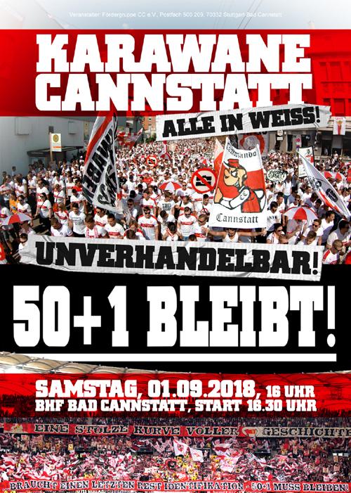 Commando Cannstatt 1997 Ultras Stuttgart Karawane Cannstatt